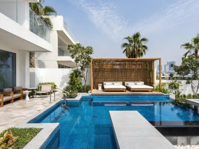 FIVE Hotel Luxury Beach Front Villa with Private Pool and Jacuzzi,