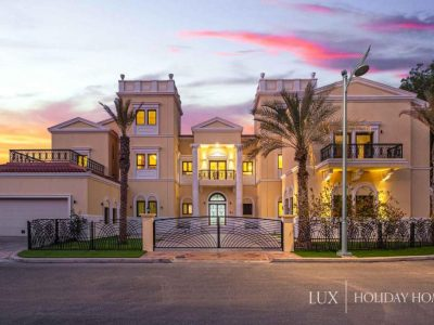 Dubai Palm Island Holiday Villa