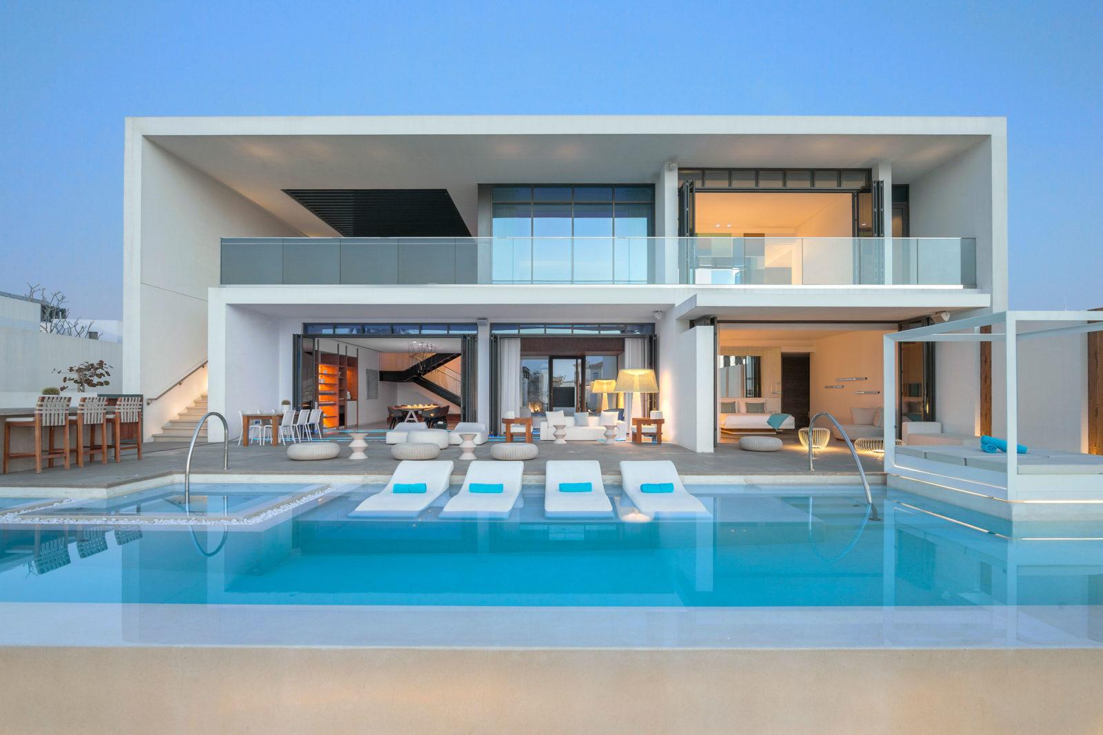 Nikki Beach Resort & Spa Dubai   Villas with pools
